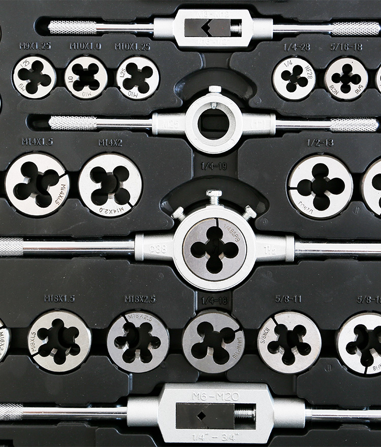 Tap and Die Set 115pce