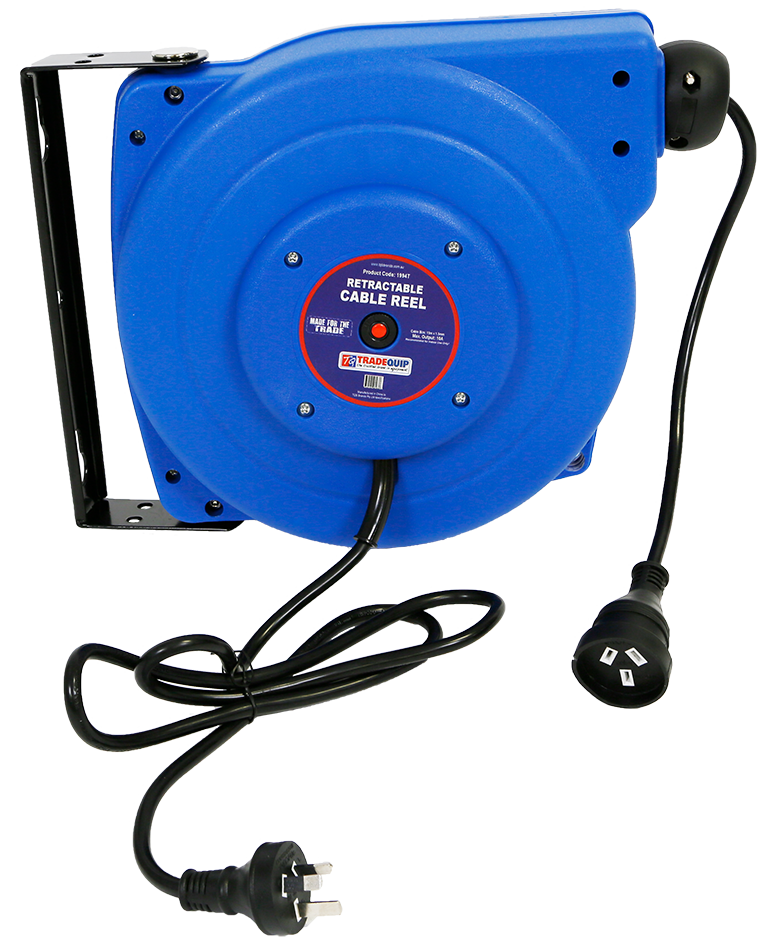 Retractable Cable Reel 15m