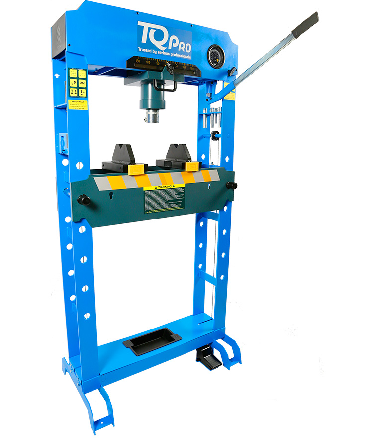 Air/Hydraulic Press 50,000kg
