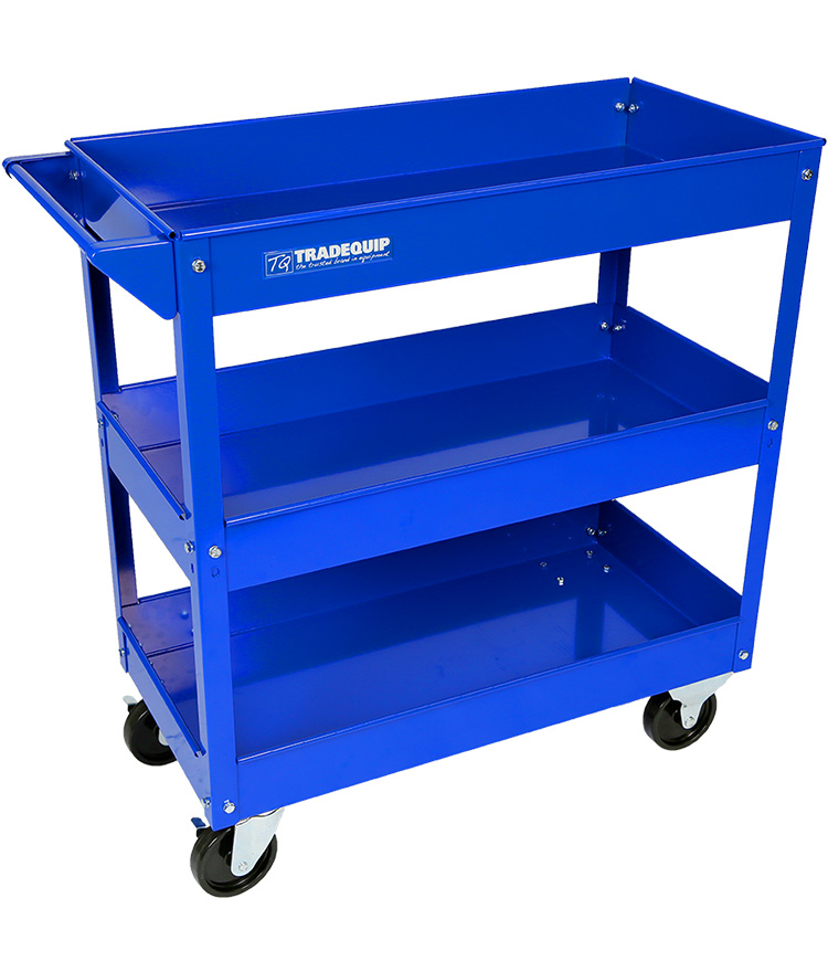 Workshop Tool Trolley 3 Trays