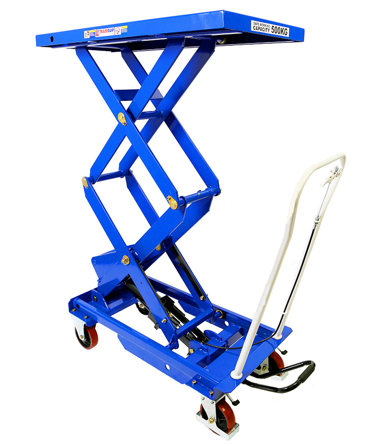 Scissor Lift Workshop Trolley 500kg