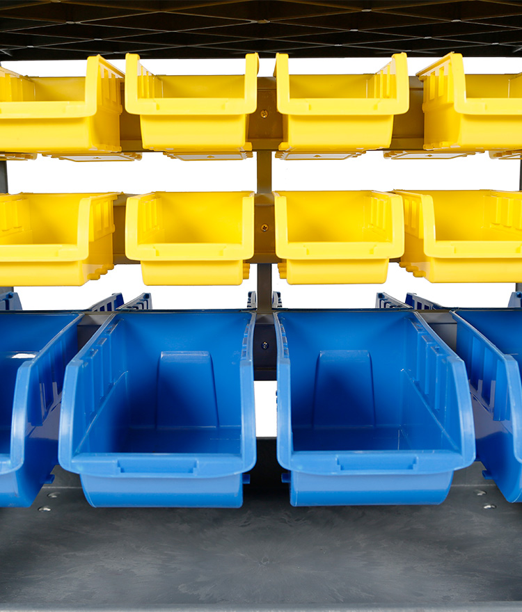 Parts Bins Yellow