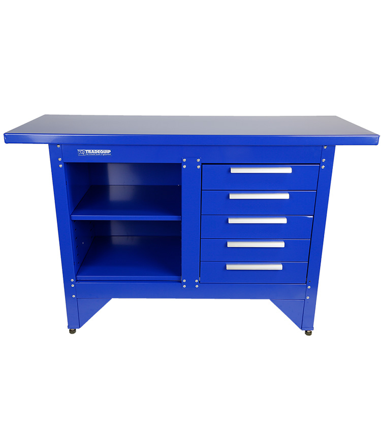 Steel Workbench 5 Drawer