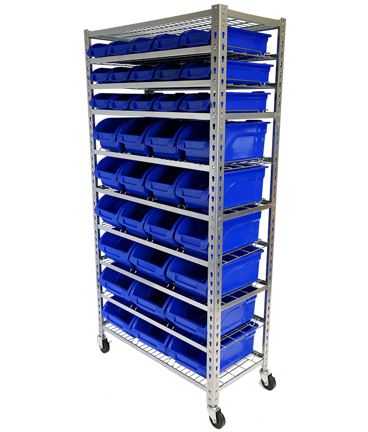 Parts Storage Bin Rack 36Bin
