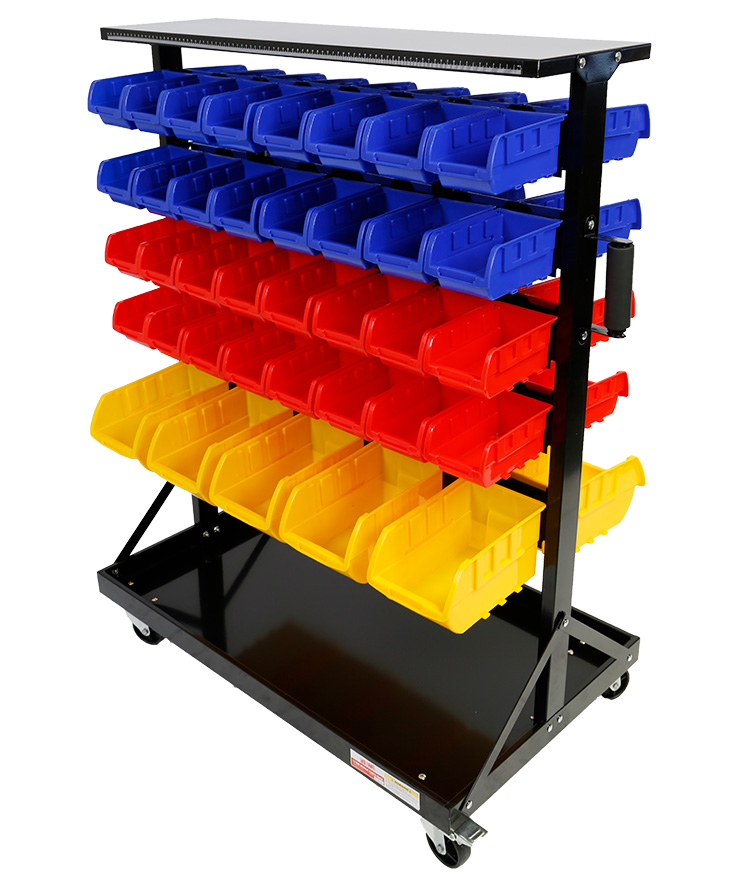 Parts Storage Bin Rack 74Bin